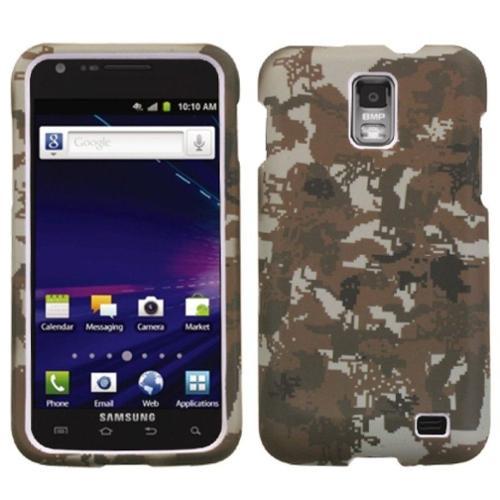 Insten Lizzo Digital Camo/Yellow Phone Case for SAMSUNG: i727 (Galaxy S II Skyrocket)