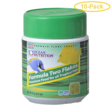 Ocean Nutrition Formula TWO Flakes 1 oz Pack of 10