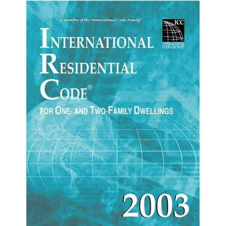 International Residential Code By International Code