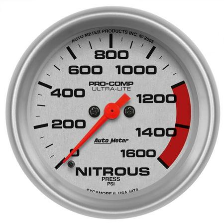 AutoMeter 4474 Ultra-Lite Electric Nitrous Pressure Gauge