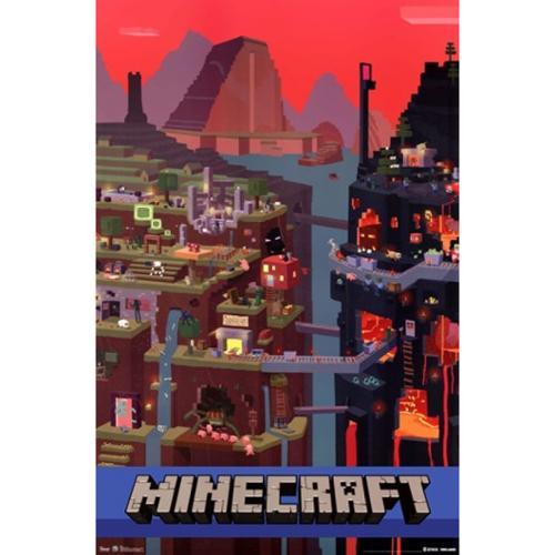 Minecraft - Cube Poster Print (24 x 36)