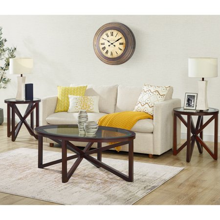 Picket House Furnishings Trinity 3PC Occasional Table Set (Top Occasional Table Set)