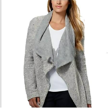 BNCI by Blanc Noir Ladies' Wool Blend Cardigan, Black/White, X-Large](blanc noir puffer vest)