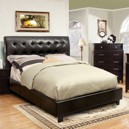 Furniture of America Gretza Contemporary Platform Bed with ...