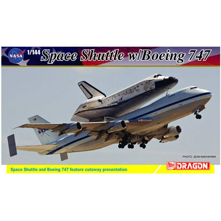Dragon Models 1/144 Scale NASA Space Shuttle Discovery with 747-100 SCA