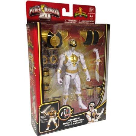 Power Rangers Megaforce Armored Mighty Morphin White Ranger - image 1 de 1
