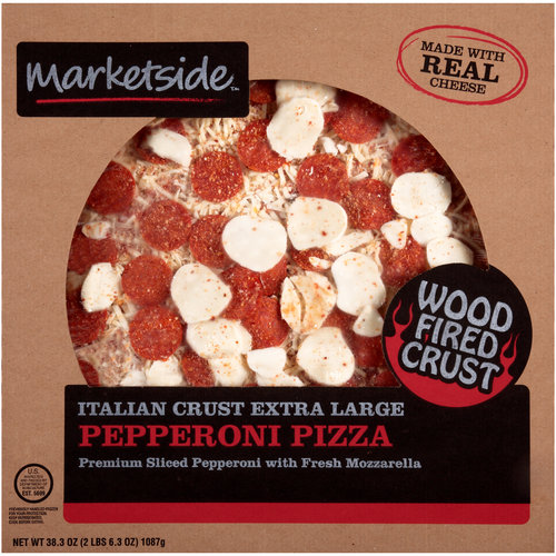 Marketside Italian Crust Extra Large Pepperoni Pizza, 38.3 oz