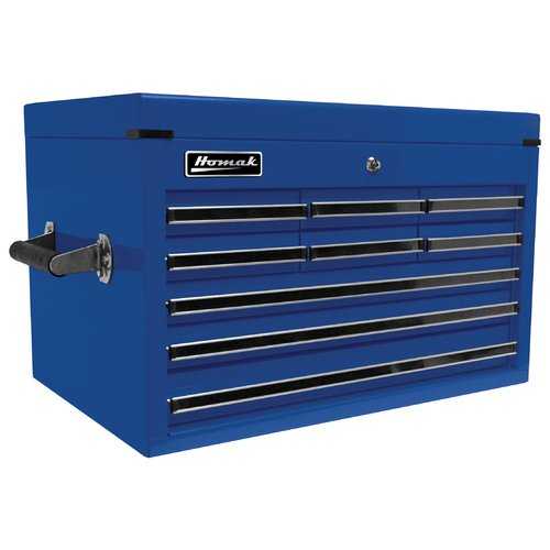 Homak Professional 26'' W 9 Drawer Top Chest