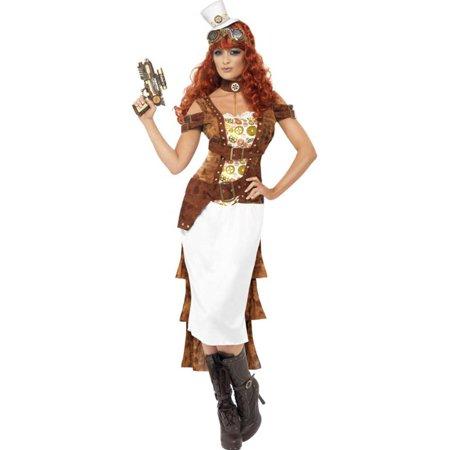 Steampunk Wild West Agent Temptress Adult Costume