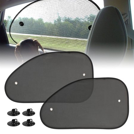 2-pack Mesh Car Cool Van Vehicle Side Window Sun Glare Shade Baby Heat Protector