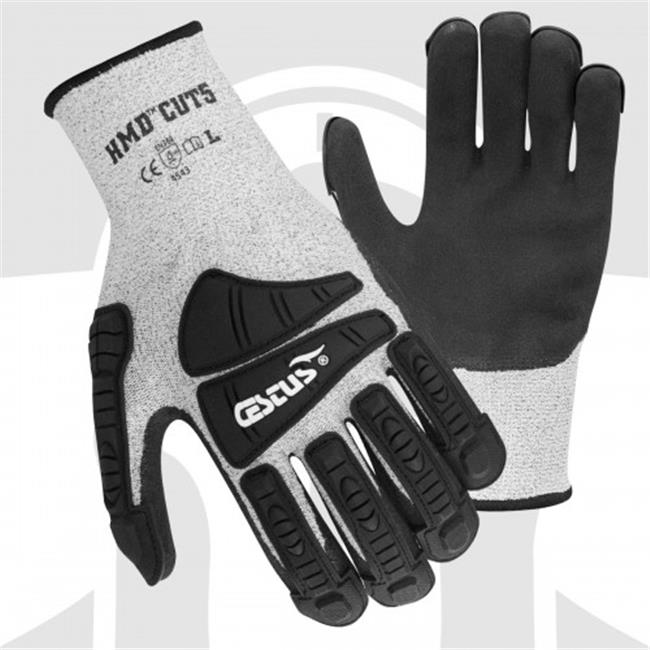 Cestus HMD CUT5 3008 XL Cut Resistant One Pair Glove, Gra...