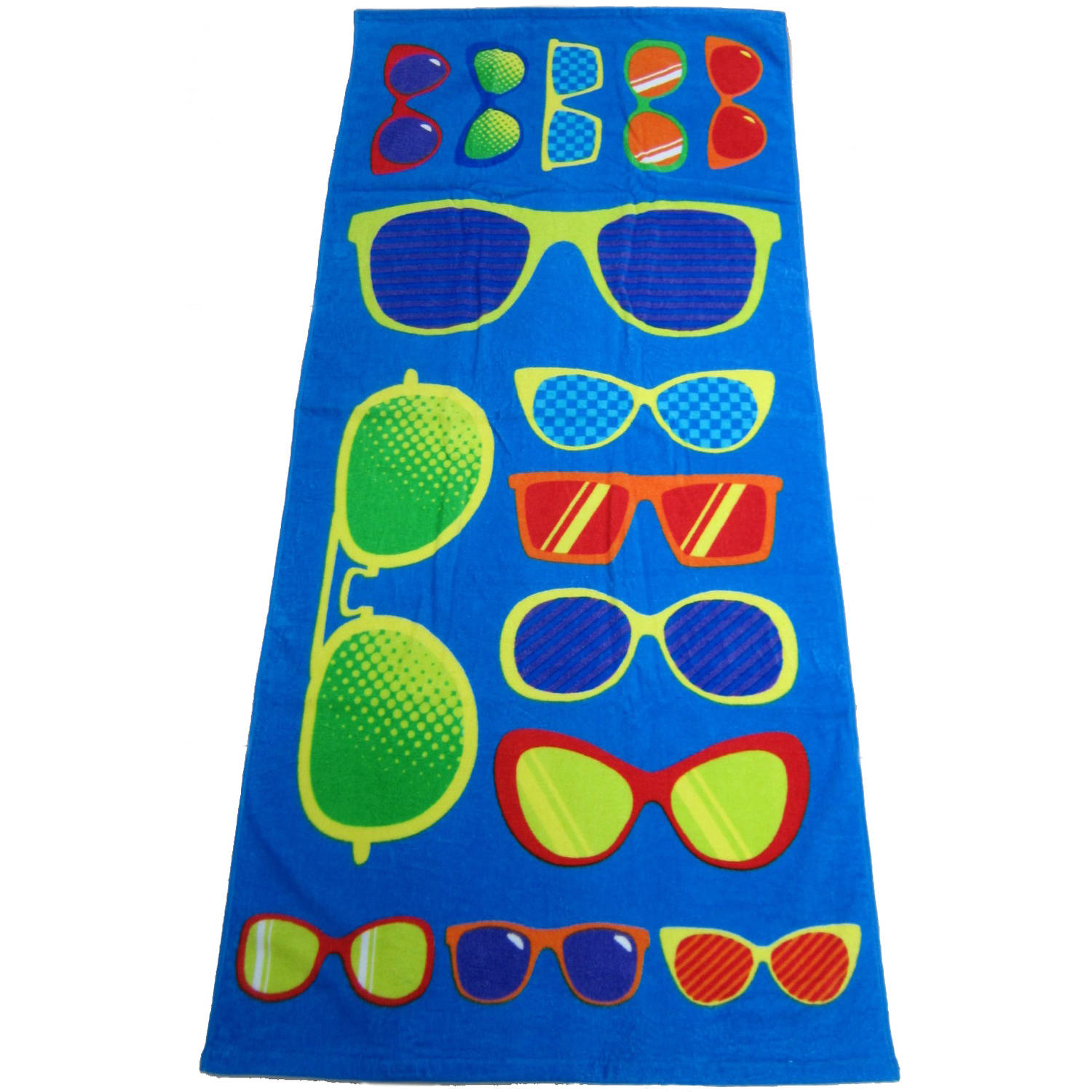 Mainstays Beach Towel, Sunglasses