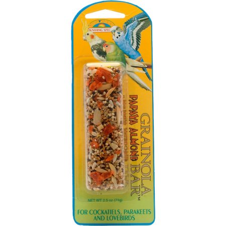 2.5 Birds (Sunseed Vita Prima Grainola Papaya Almond Bird Treat, 2.5)