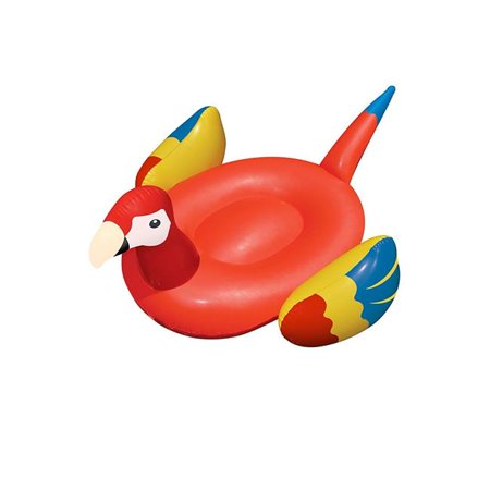 International Leisure Products 90629SL 93 x 76 in. Swimline Giant Parrot Pool Float](Giant Parrot)
