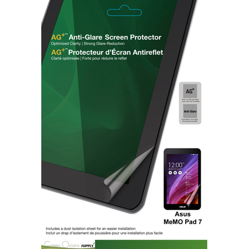 Green Onions Supply  AG+ Anti-Glare Screen Protector ASUS MeMO Pad 7