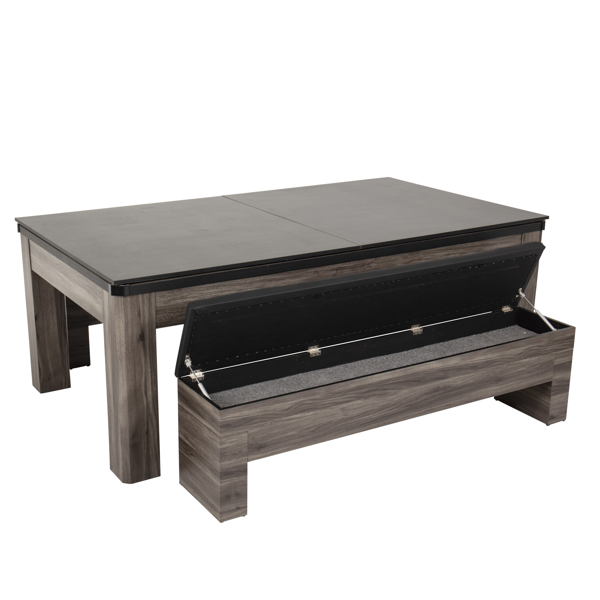 Atomic 7' Hampton 3-in-1 Combination Table Includes ...