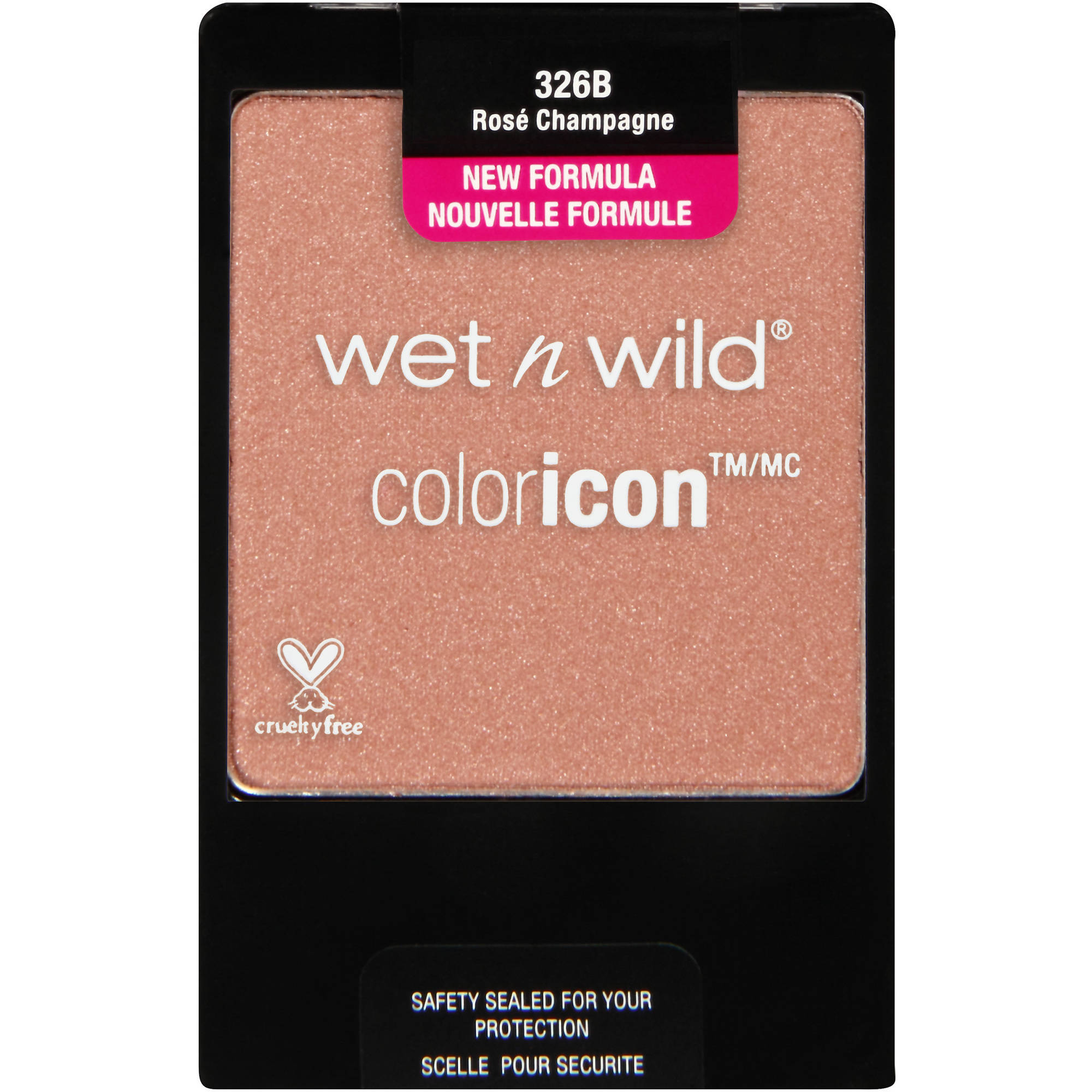 Wet n Wild ColorIcon Blush, 326B Rose Champagne, 0.20 oz