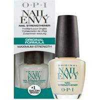 ($17.95 Value) OPI Original Nail Envy Nail Strengthener, Maximum Strength Formula, 0.5 Oz