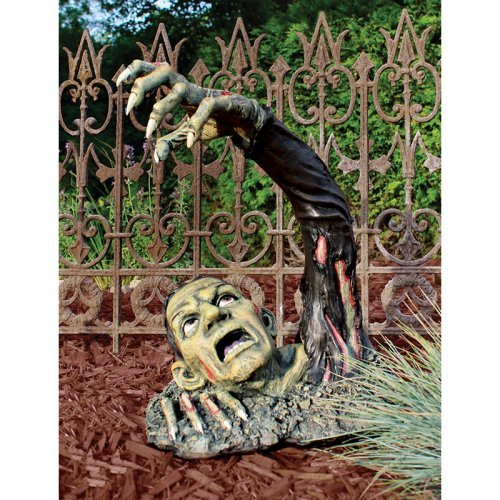 Outbreak Of The Undead Statue Design Toscano Zombie Decoration  Undead Statue