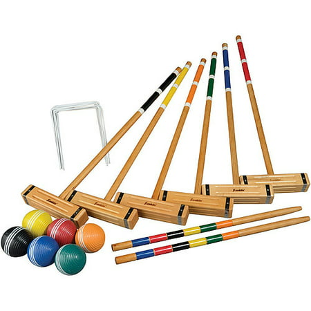 Franklin Sports Classic Series 6 Player Croquet