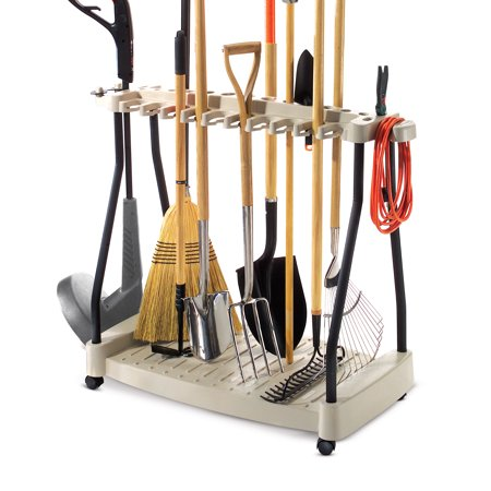 Suncast Tool Rack With Wheels Rtc1000 Best All Tool Storage