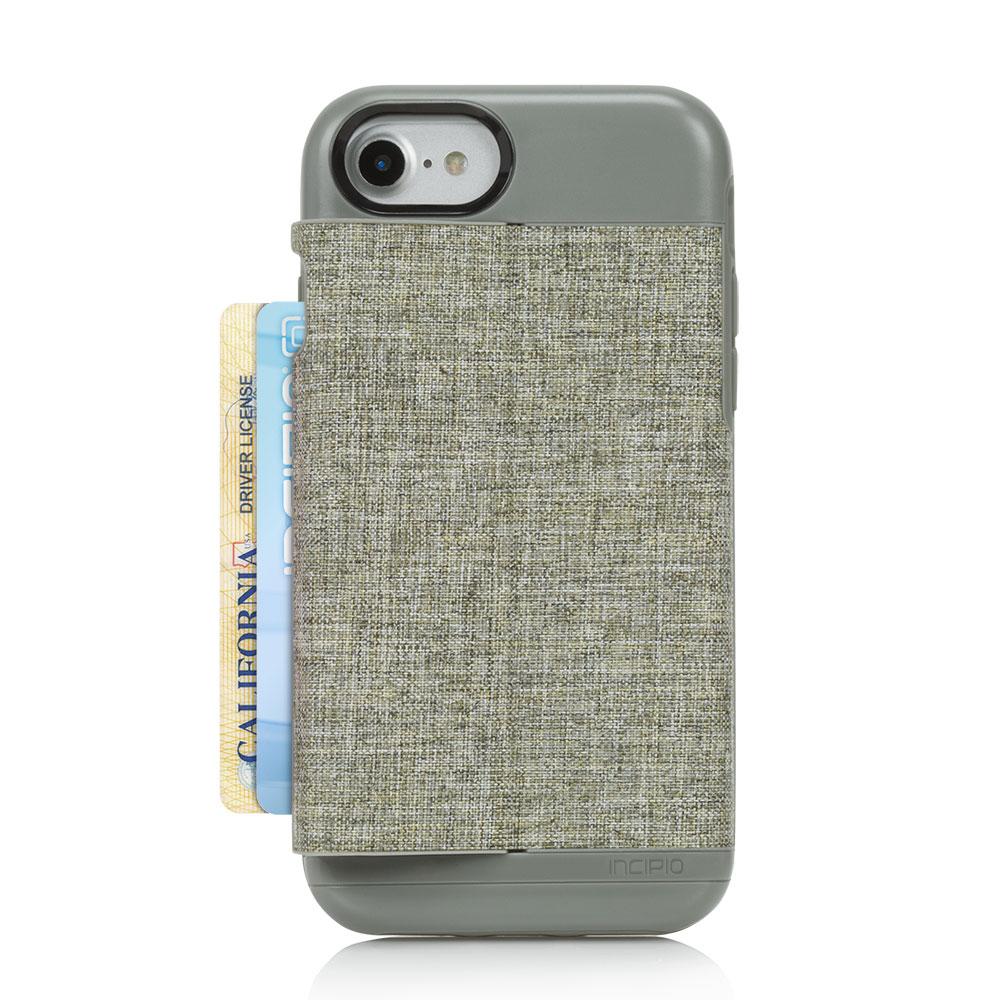 Incipio Wallet Case Esquire Series for iPhone 7 iPhone 6 6S Heather Dark Gray by Incipio Technologies