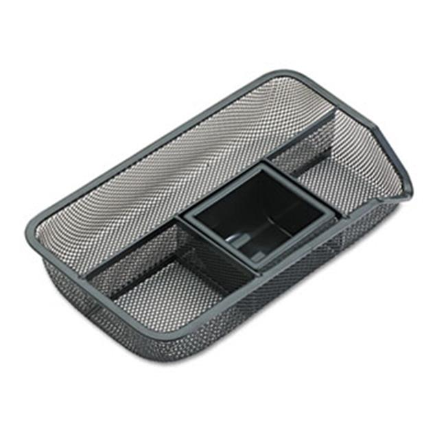 Eldon Office Products 22121 Drawer Organizer, Metal Mesh, Black