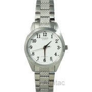 Casio LTP-1274D-7B Women's Textured Band Analog Fashion Watch w/ Numbered Dial