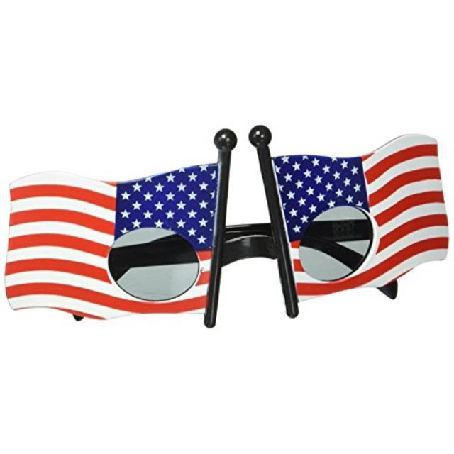 Patriotic Fanci-Frames (stars & stripes design) Party Accessory (1 count) (1/Pkg)