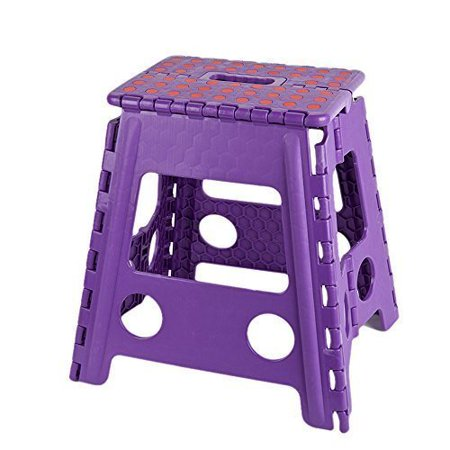 Karmas Products Super Strong Folding Step Stool 15 Inch