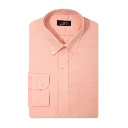 Clothing, Shoes & Accessories Club Room Mens Wrinkle Resistant Ls Button Up Dress Shirt Shirts