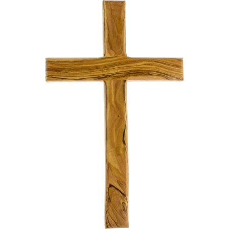 "10"" Large Olive Wood Wall Cross for Church or Home"