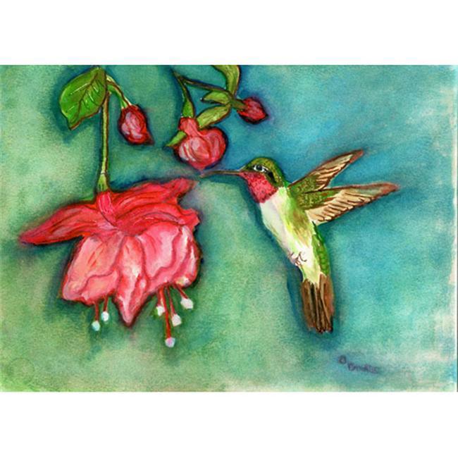 Betsy Drake DM330G Betsy's Hummingbird Door Mat 30''x50''