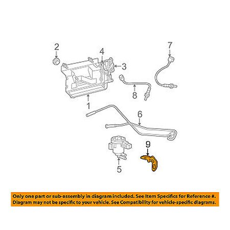 Jeep CHRYSLER OEM 2006 Commander 3.7L Emission-Rr Oxygen Sensor Clip