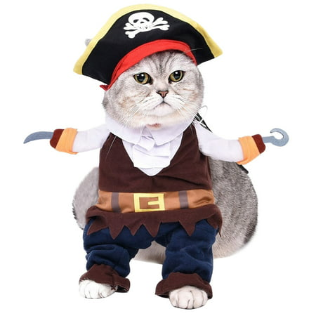 Halloween Pet Costumes, Legendog Cute Cosplay Apparel Party Dressing up Clothing for Dogs Cats Clothes Pet Outfit](Happy Halloween Cute Pets)