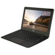 "Refurbished Dell Chromebook 11 CB1C13 11.6"" Laptop Intel Celeron 2955U 1.40GHz 2 GB 16 GB SSD (Scratches & Dents)"