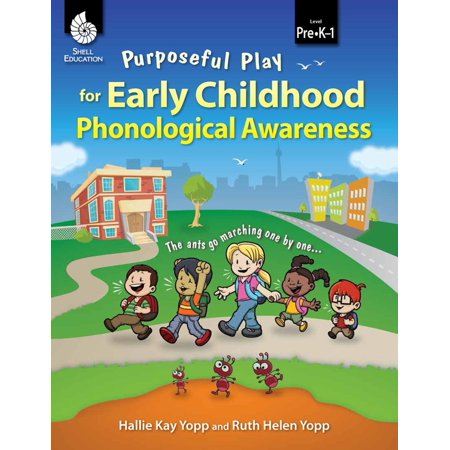 Purposeful Play for Early Childhood Phonological Awareness - eBook
