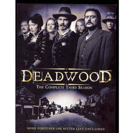 Deadwood Complete 3Rd Season  Dvd 6 Disc Ws Eng Fr Sp Sub   Hbo Home Video