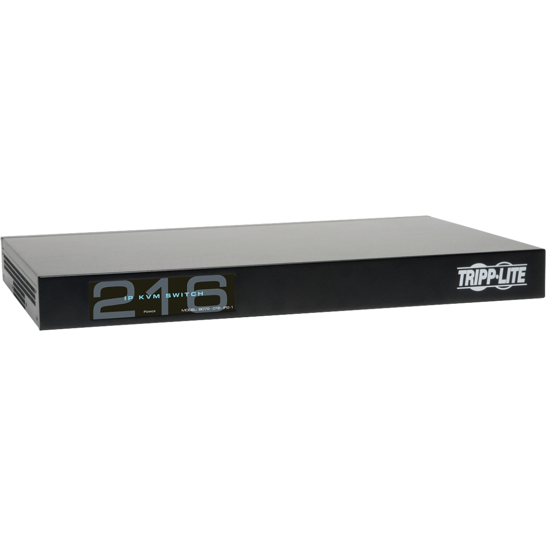 Tripp Lite B072-016-IP2 16port 1-local 2-remote User Perp Cat5 Kvm Over Ip Switch 1urm by Tripp Lite