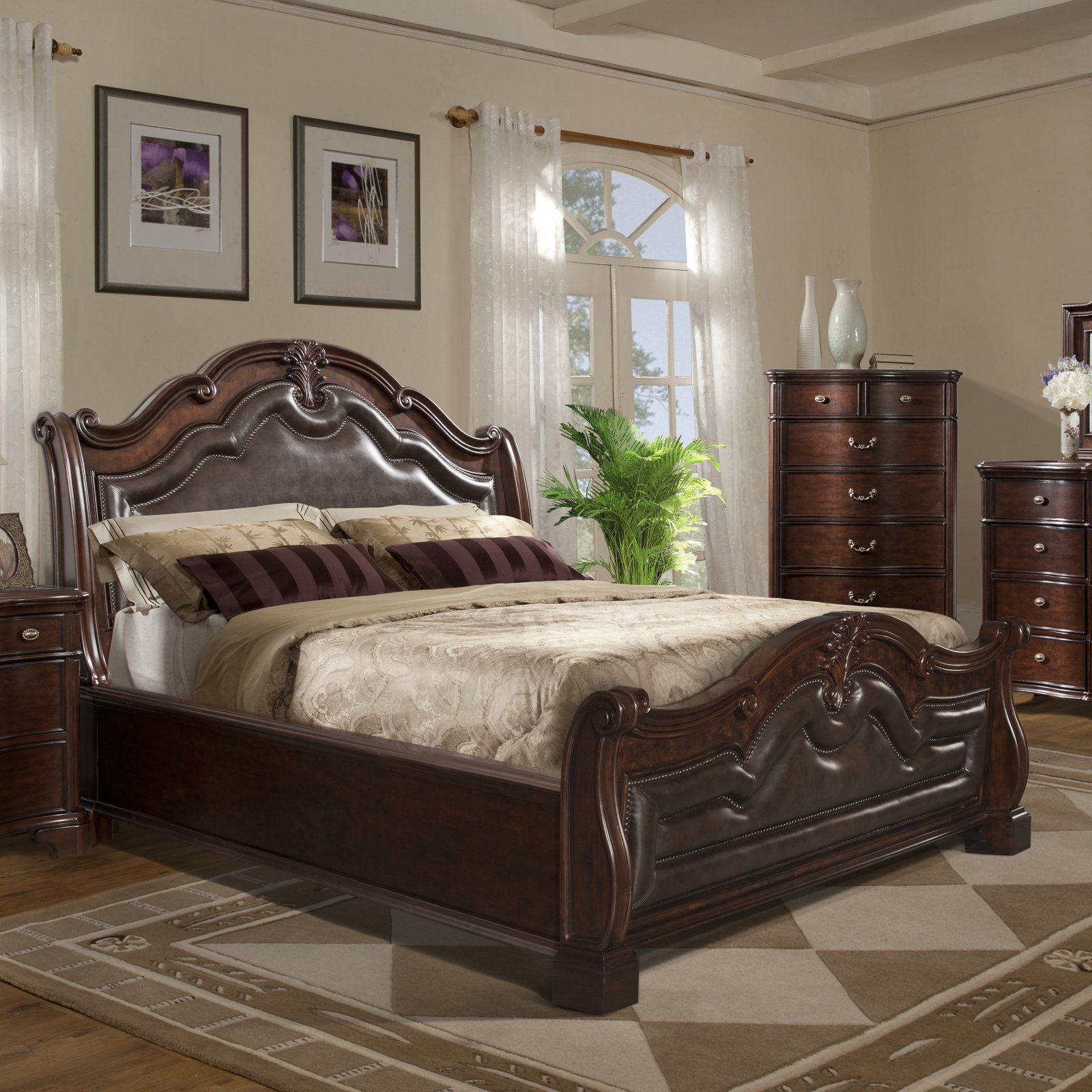 Element Picket House Furnishings Tabasco Storage Sleigh Bed