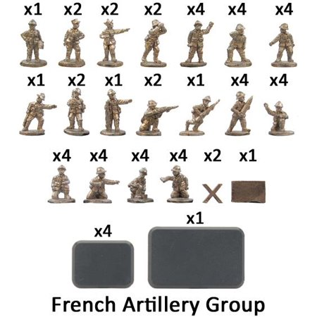 French Artillery Group New