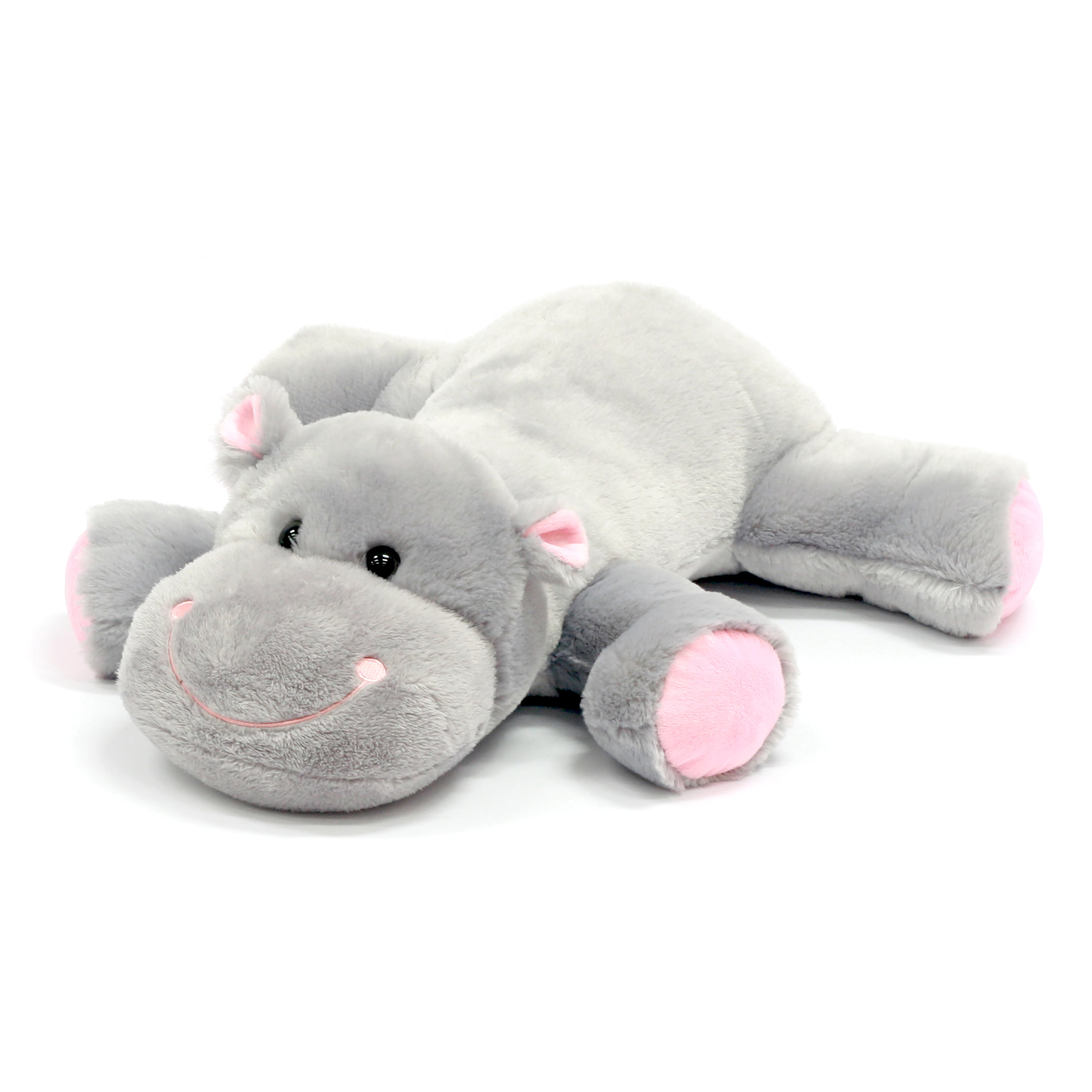 Easter 30 Inch Stuffed Large Floppy Animal Plush Hippo Walmart Com