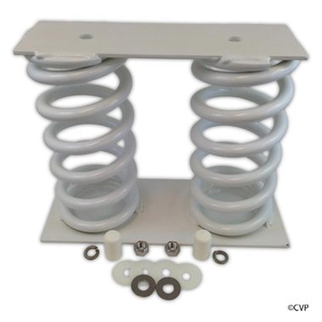 Interfab BA-S 6 or 8 ft. Baja Dual Coil Spring with Base to Jig Hardware for Jump Stand & Board Powder Coated