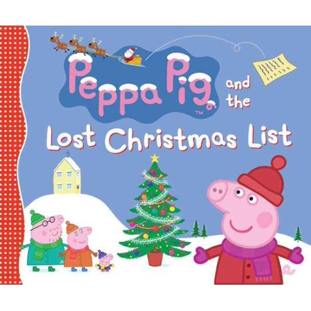 Peppa Pig And The Lost Christmas List