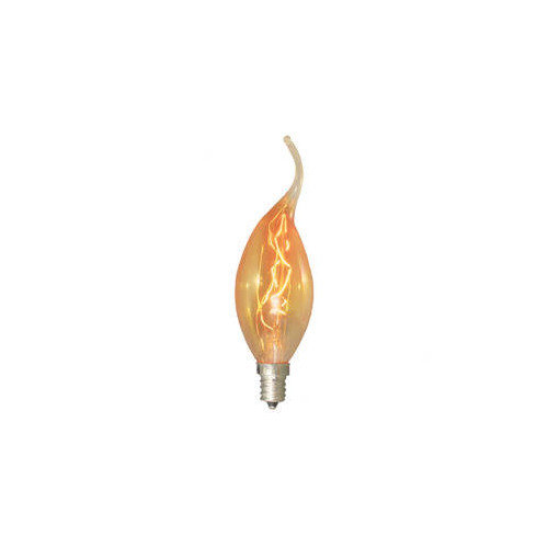 Bulbrite Industries 15W Amber 120-Volt Incandescent Light Bulb (Set of 7)