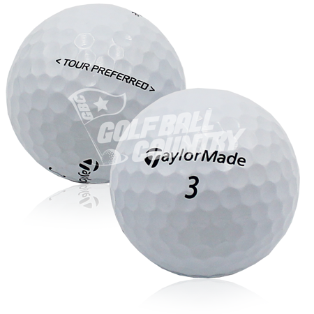 TaylorMade Tour Preferred Golf Balls, Used, Mint Quality, 12 Pack