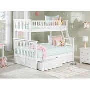 Columbia Bunk Bed Twin over Full in Multiple Colors and Configurations