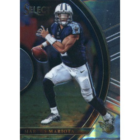 2017 Panini Select #31 Marcus Mariota Tennessee Titans Football Card