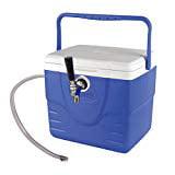 Draft Warehouse Mini Jockey Box Single Faucet 50' coil 6' Beer Line with 1/4