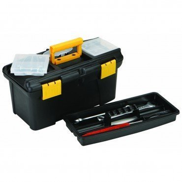 Stanley Tote Tray - 12 inch Compact Polypropylene Tool Box, Durable lift-out tote tray By Storehouse